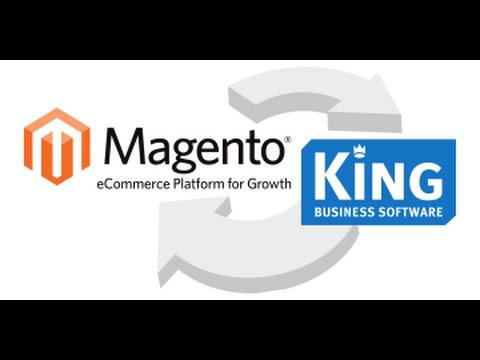Uitleg in 2 minuten over Magento Webshop aan King en Vtiger CRM
