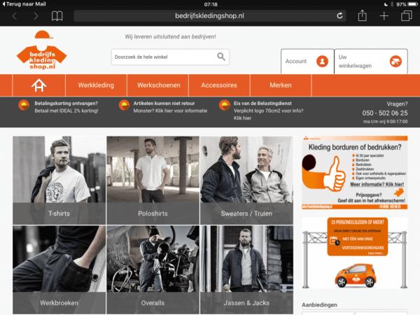 Huizingh-Bedrijfskledingshop-home_screenshot_source