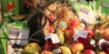 Fruit op de gezondheidsbeurs