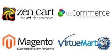 Magento osCommerce Virtuemart Zen Cart