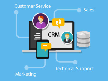 Oplossing-CRM-marketing-verkoop-service_illustratie