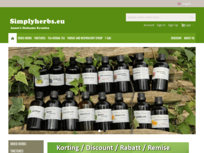 Simply-Herbs-Homepage