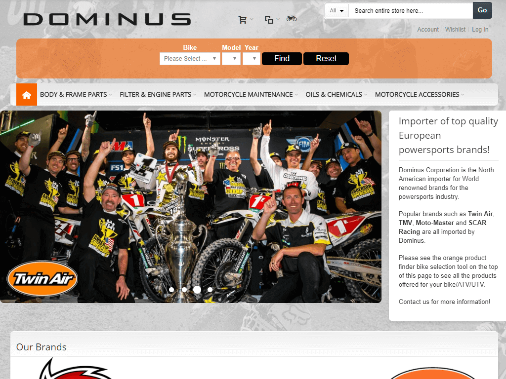 Dominus-motor-materialen-magento-webshop-home