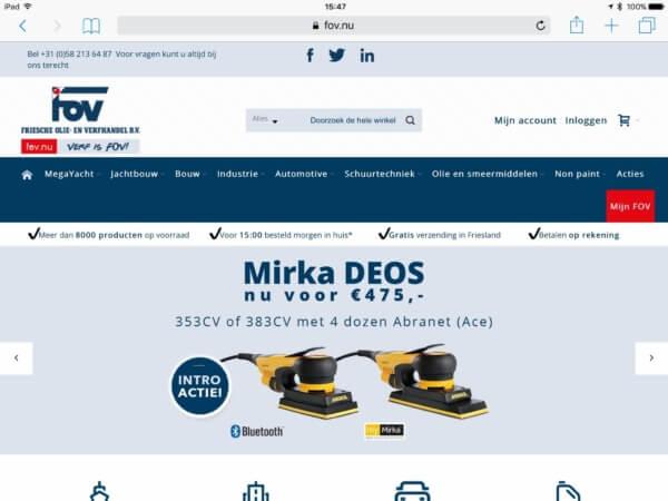 fov-magento-webshop-homepage_screenshot