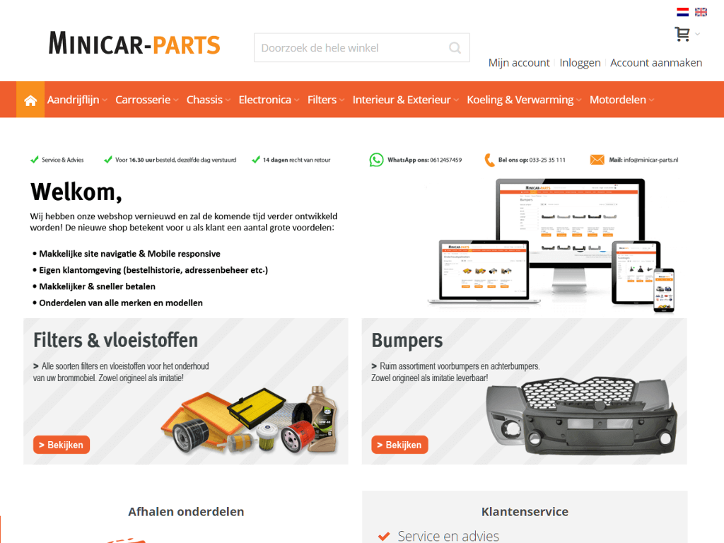 Mini-car-parts-home