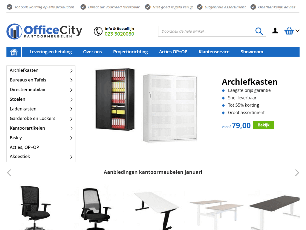 Officecity-nl-home_screenshot