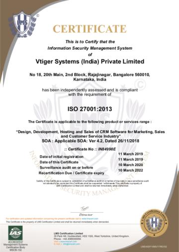 vtiger-crm-iso-27001-certificaat